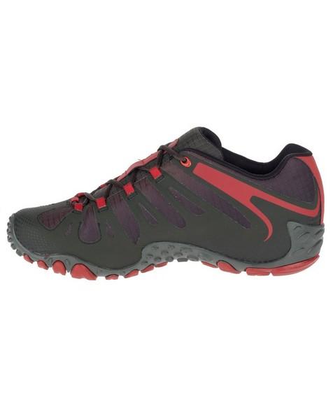 Merrell Men's Chameleon 2 Flux Hiking Shoe -  charcoal-red