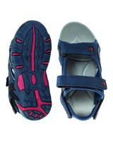 K-Way Youth Stepper Sandals -  blue-red