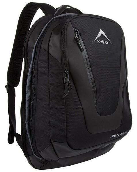 K-Way Travel Buddy Luggage Bag -  black-grey