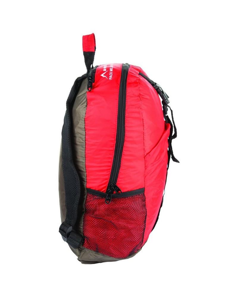 K-Way Foldable Backpack -  red-black