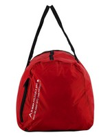 K-Way Foldable Duffle Bag  -  red-black