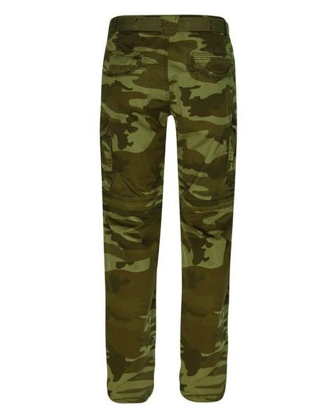 CU & Co Men's Domino Pants -  brown-camo