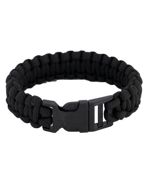 Cape Union Paracord Bracelet (Large) -  black
