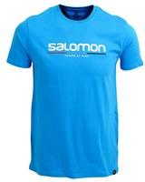 Salomon Men's New Race Short Sleeve Tee -  seablue