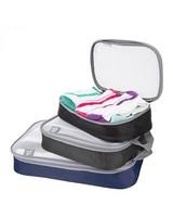Travelon Set of 3 Lightweight Packing Organizers -  assorted