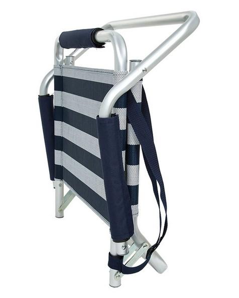 Cape Union Beach Chair -  navy-white