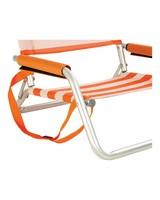 Cape Union Beach Chair -  orange-white
