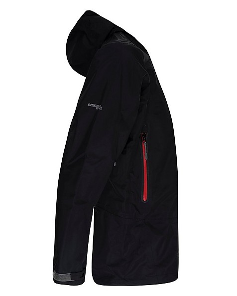 K-Way Expedition Series Men's Merak '16 Tri-lam Shell Jacket -  black-red