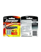 Energizer 4+2 AAA MAX Battery -  nocolour