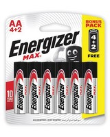 Energizer 4+2 AA MAX Batteries -  nocolour