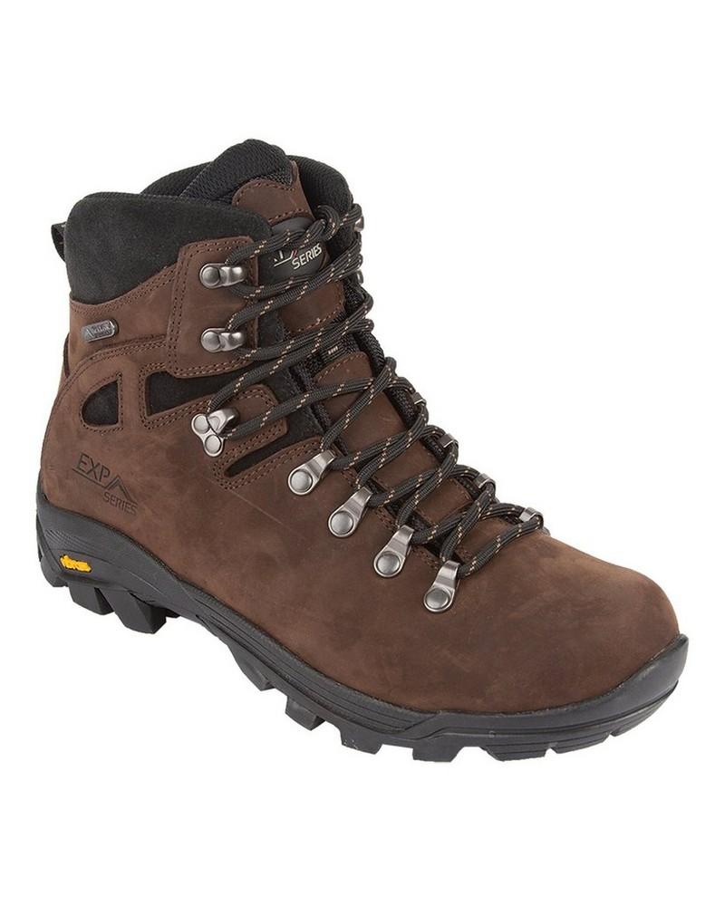 K-Way Expedition Series Men's Kili 16 Boots -  chocolate-black