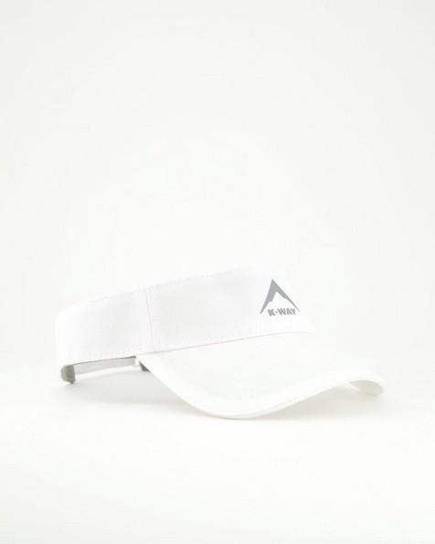 K-Way Flash Visor Cap -  white