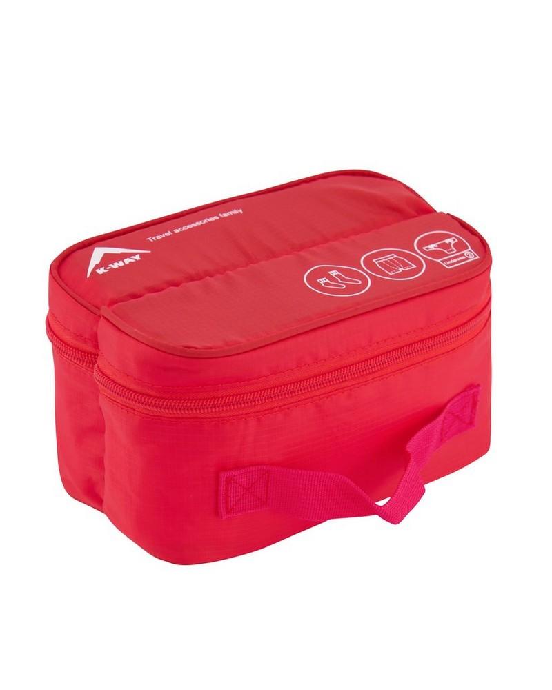 K-Way Underwear Bag -  red-red