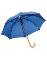 Umbrella Man 23 Wooden Shaft & Hooked Handle Umbrella -  navy