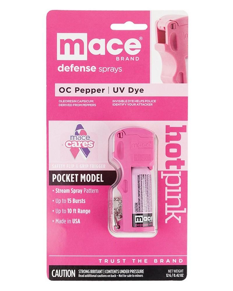 Mace Pocket Pepper Spray -  pink