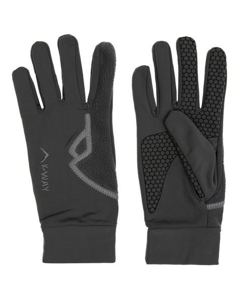 K-Way Unisex Touch Vesper Gloves -  charcoal