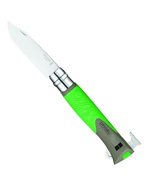 Opinel #12 Explore Folding Knife -  green