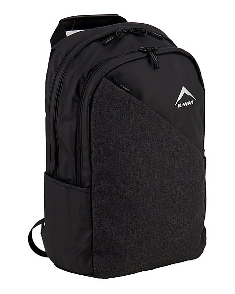 K-Way Shuttle Laptop Bag -  charcoal-black