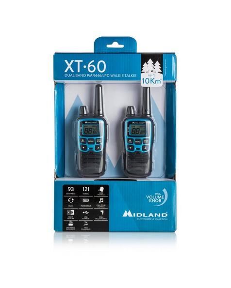Midland XT60 Two-Way Radio -  blue