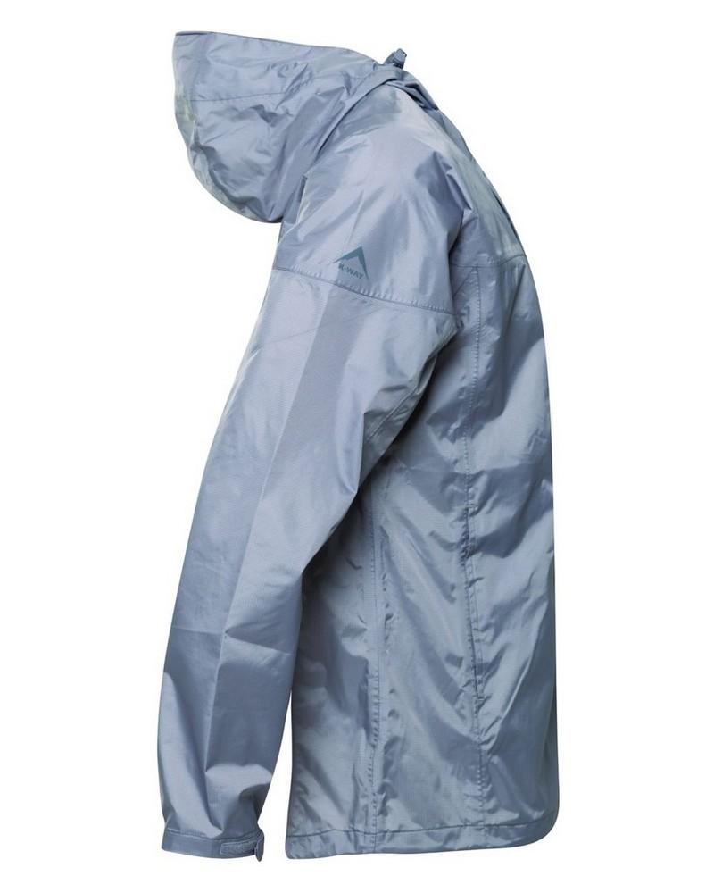 K-Way Rainstorm Jacket Mens -  grey