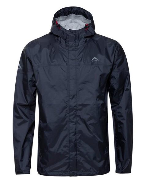 K-Way Men's Rainstorm Jacket -  graphite