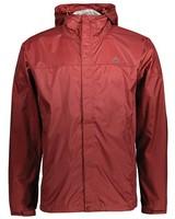 K-Way Men's Rainstorm Jacket -  burgundy-copper