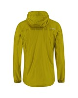 K-Way Men's Rainstorm Jacket -  mustard