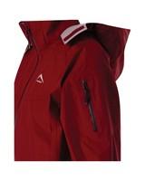 K-Way Women's Deluge Tech Hiking Jacket -  red