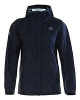 K-Way Women's Cloudburst Jacket -  black-aqua