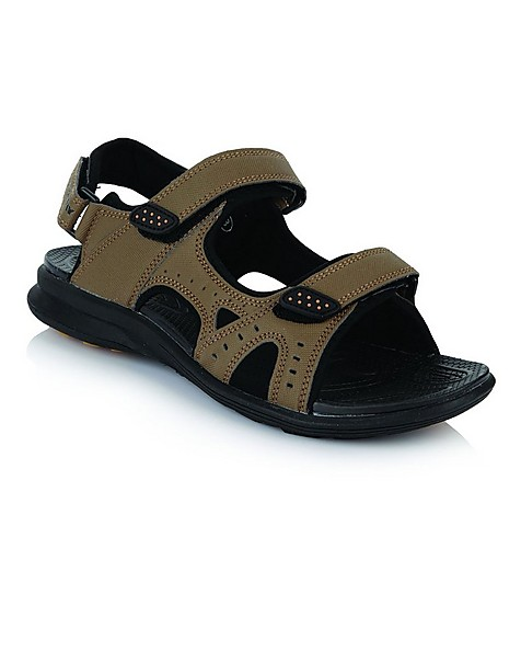 K-Way Gravity Sandal Mens -  taupe-black