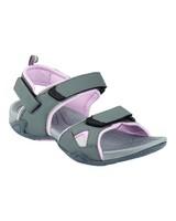 K-Way Women's Carsey Sandal -  grey-lightpink