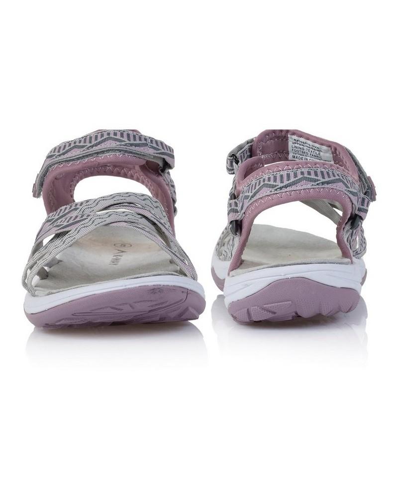 K-Way Exhale Sandal Ladies -  mauve-white