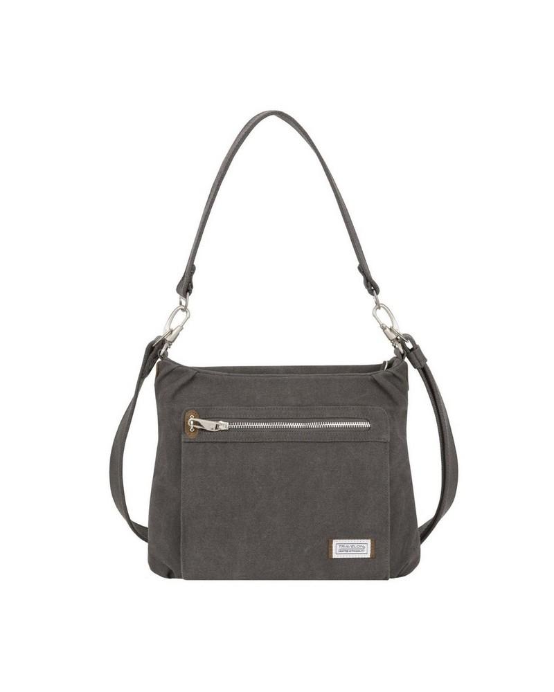 Travelon® Anti-Theft Heritage Hobo Bag -  pewter