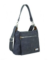 Travelon® Anti-Theft Heritage Hobo Bag -  indigo