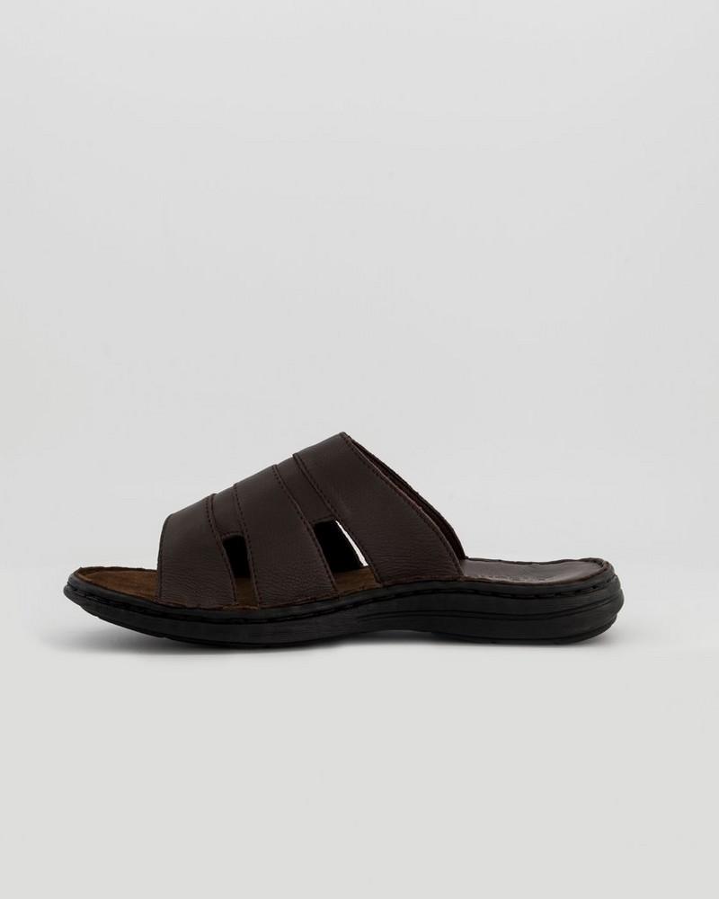Tsonga Men's Dukuza Sandal -  chocolate