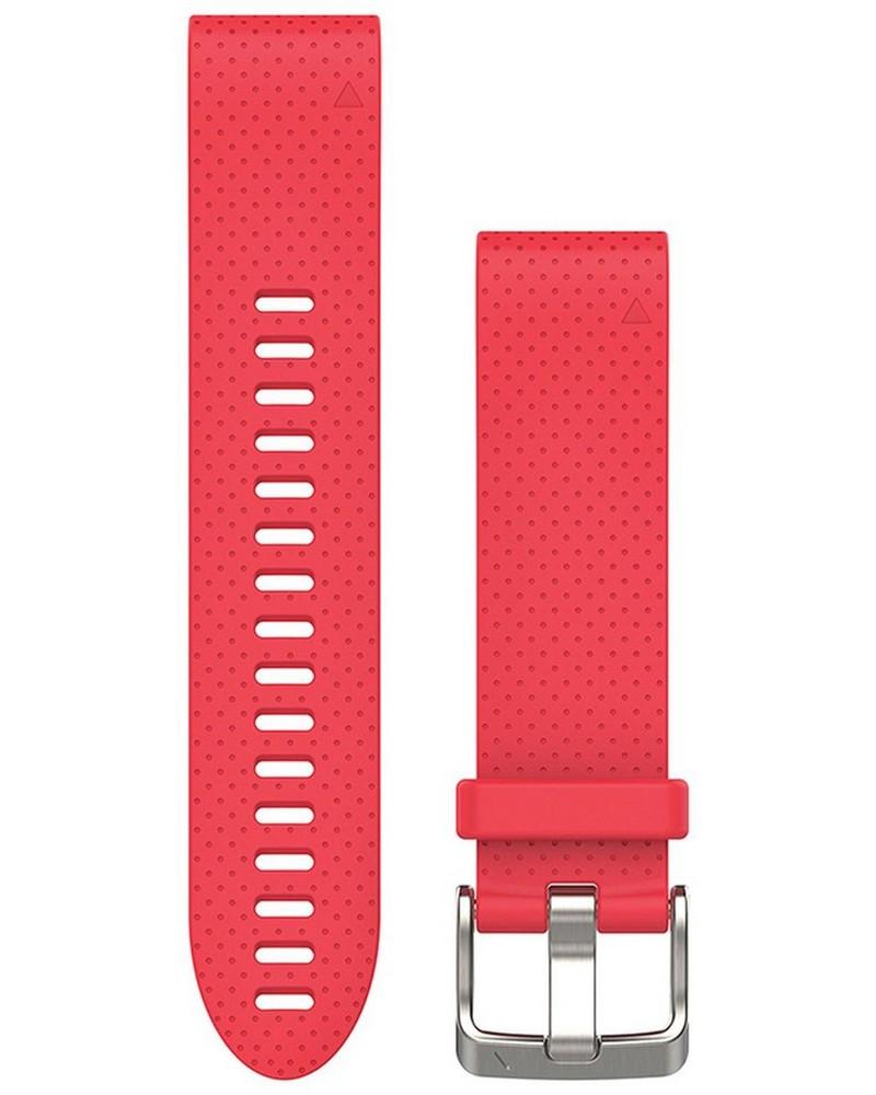 Garmin Quickfit 20mm Silicone Strap -  pink