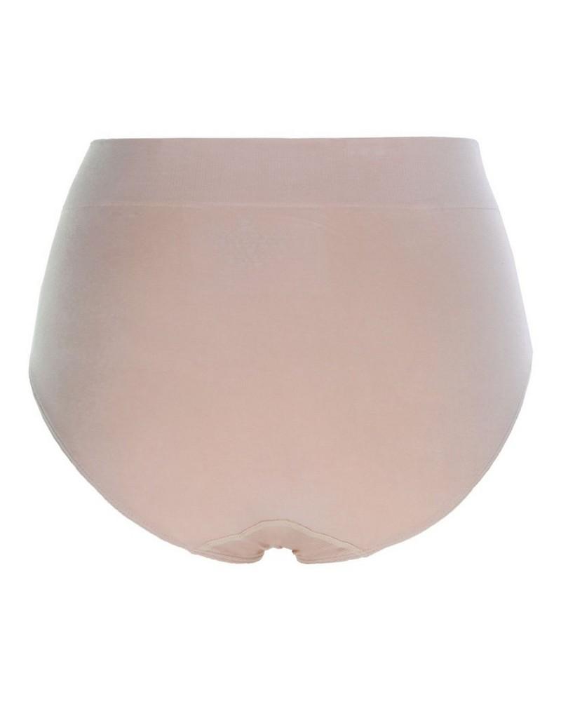 Boody Womens Full Brief -  nude