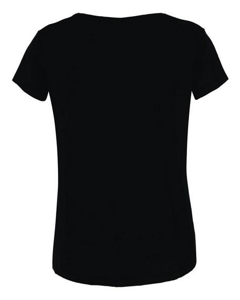Boody Women's V-Neck T-Shirt -  black