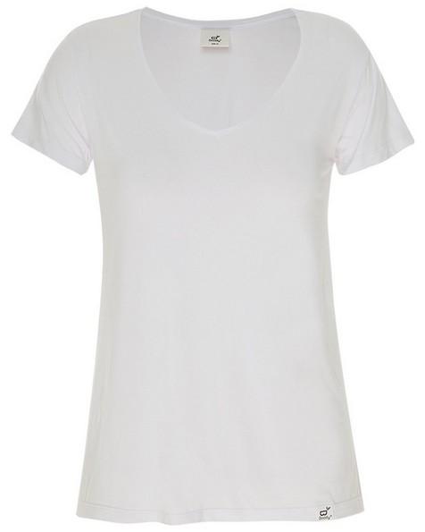 Boody Women's V-Neck T-Shirt -  white