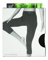 Boody Women's 3/4 Leggings -  black