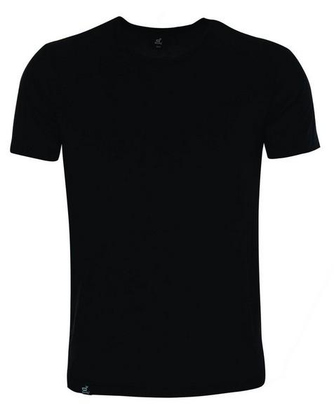 Boody Mens Crew Neck T-shirt -  black