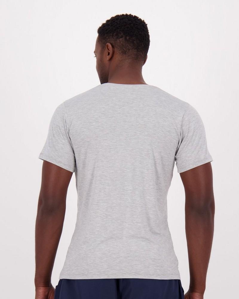 Boody Mens Crew Neck T-shirt -  white