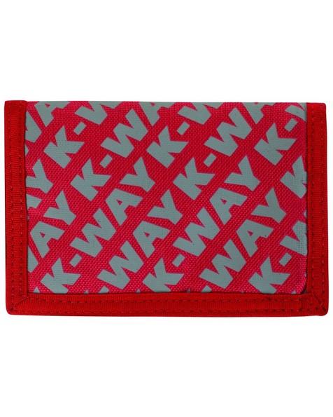 K-Way Utility Wallet -  red-grey