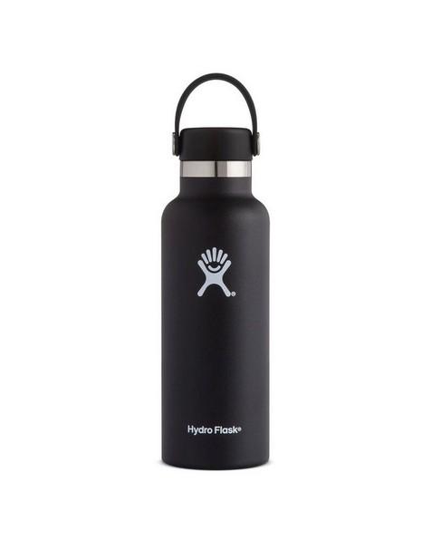 Hydroflask 532ml Standard Mouth Flask -  black