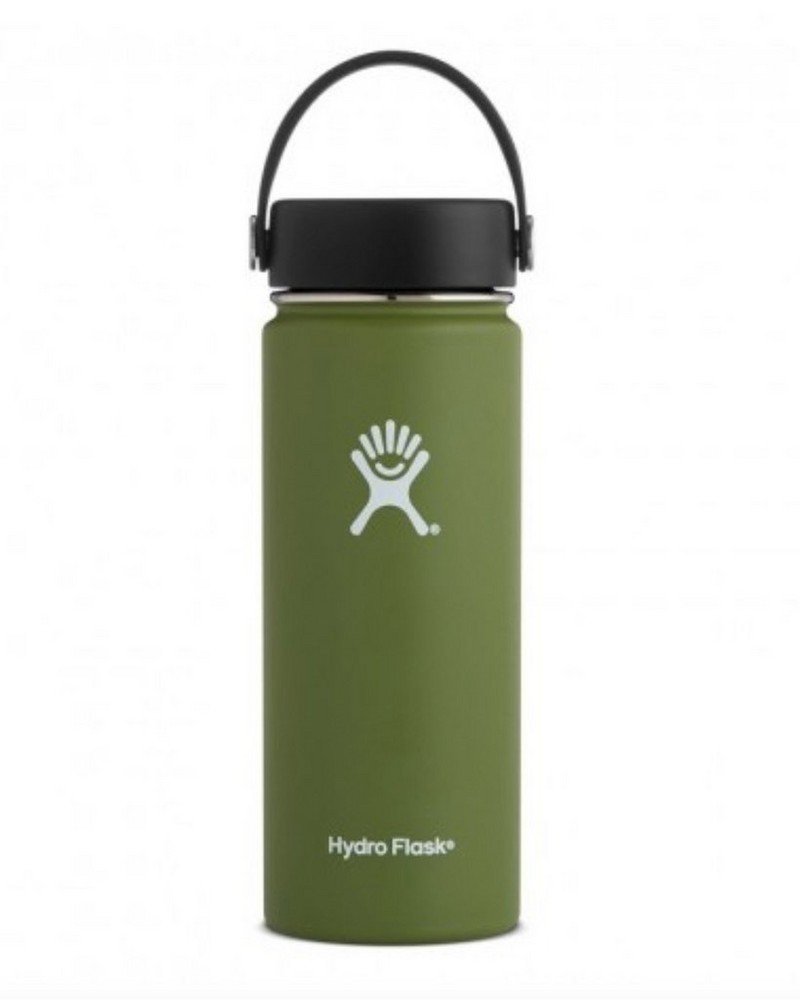 Hydro Flask 532ml Wide Mouth Flask -  green