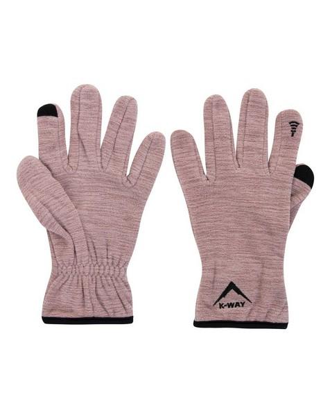 K-Way Touch Kinzer 18 Glove -  dustypink-lightpink