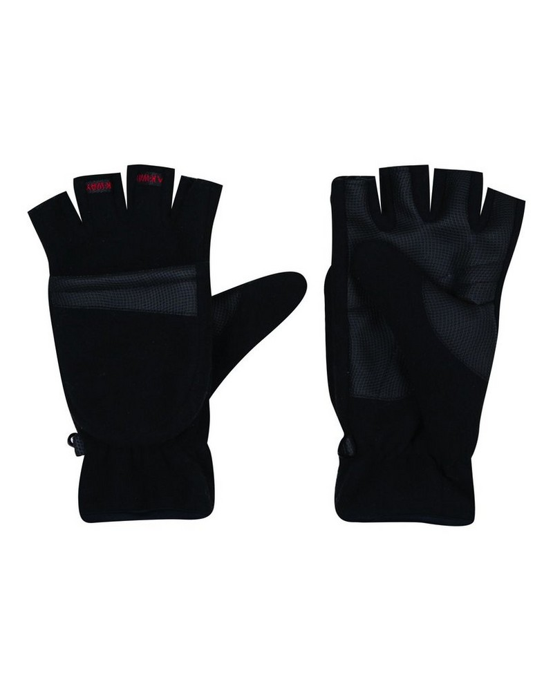 K-Way Peary18 Mitten -  black-red