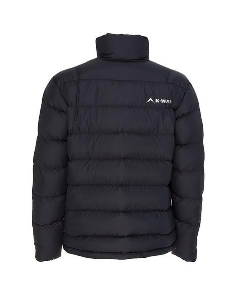 K-Way Men's Siberia '18 Down Jacket -  black-black