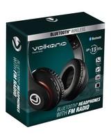 Volkano Impulse Over-Ear Headphones -  black