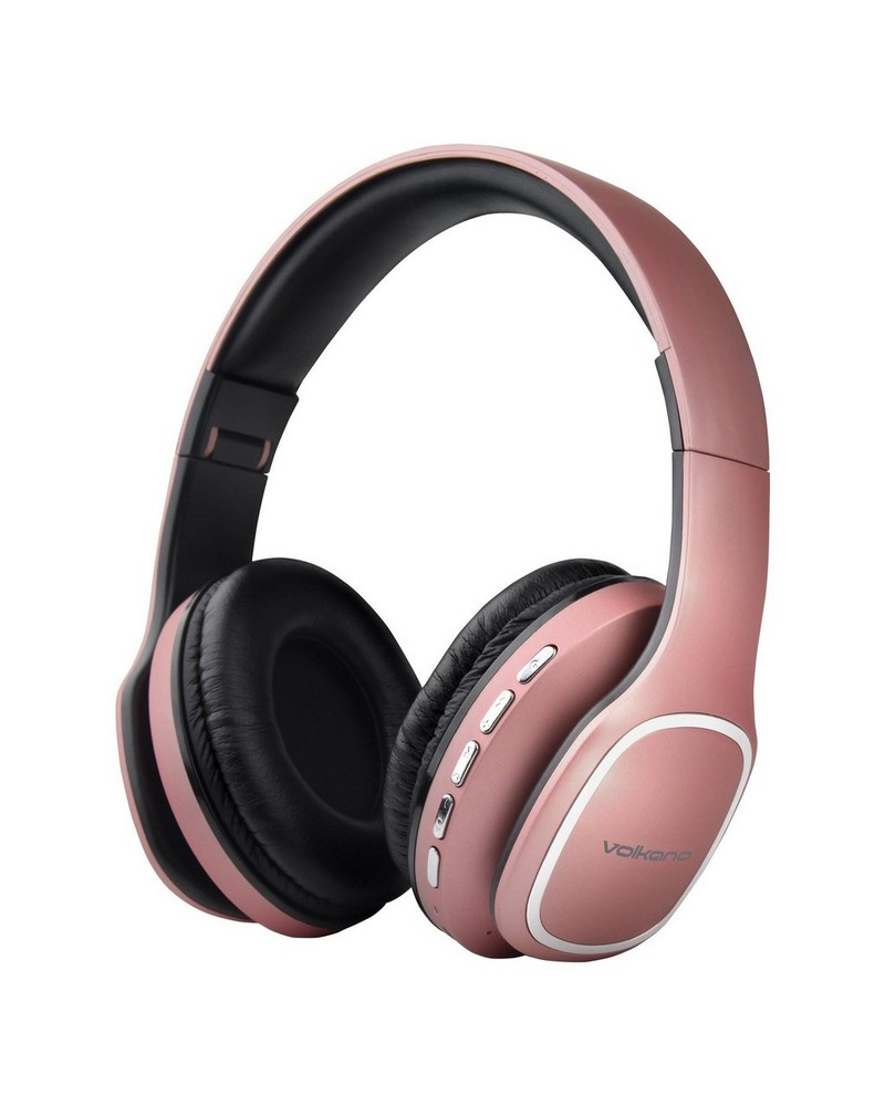 Volkano Phonic Over-Ear Headphones -  pink